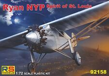 RYAN NYP SPIRIT OF ST. LOUIS (AMERICAN & JAPANESE MARKINGS) 1/72 RS MODELS