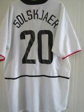 Manchester United 2002-2003 Solskjaer CL Away Football Shirt Size XL /37860