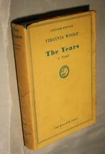 Virginia Woolf-The Years-A Novel-Uniform Edition-The Hogarth Press 1951