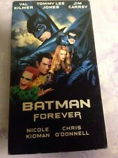 Batman Forever VHS Val Kilmer Tommy Lee Jones Jim Carrey Kidman Chris O'Donnell