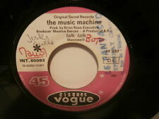 "the music machine""talk talk""single.7""or.fr.vogue:int80082 de 1966.rare juke-box"