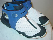 2006 Reebok Allen Iverson X The Pump Blue/White Basketball Shoes! Size 11 Rare!