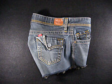 LEVIS 562 CUTOFF JEAN SHORTS Cut Off W 27 Denim Red Tab Daisy Duke