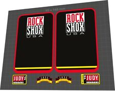 ROCKSHOX Judy SL 1997 Fork Sticker / Decal Set