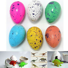 6x Magic Dino Eggs Growing Hatching Dinosaur Add Water Child Inflatable Kid Toy