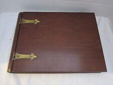 Bombay Company Wooden Memory Box Mahogany Finish Jewelry Trinket Keepsake Photos