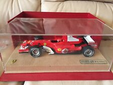 2006 FERRARI SCHUMACHER 248 F1 1:18  Diecast race car toy in acrylic box