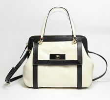 Kate Spade Auburn Place Bag Cayton Patent Leather PXRU4491 Doe/Black