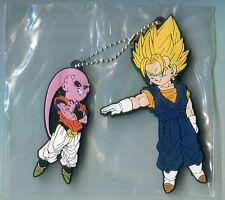 DRAGONBALL JAPANESE Ichibankuji Rubber key chain Vegito & Buu UNOPENED