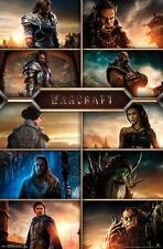 WARCRAFT - CHARACTER GRID MOVIE POSTER - 22x34 VIDEO GAME 14027