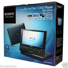 "Sony BDP-SX910 Portable DVD Player 9"" Screen BDPSX910 - Brand New Free Shipping"