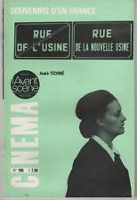 L'AVANT-SCENE n°166 André Téchiné SOUVENIRS D'EN FRANCE 1976