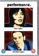 PERFORMANCE (1970) MICK JAGGER DVD R4 NEW AND SEALED THE ROLLING STONES