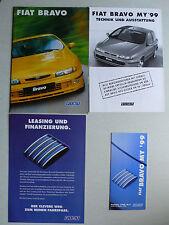 Prospekt Fiat Bravo, 10.1998, 28 Seiten + Technik/Ausstattung+Preisliste+Leasing