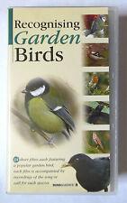 RECOGNISING GARDEN BIRDS VIDEO VHS 24 SHORT FILMS 1996 60 MINS ROBIN BLUE TIT