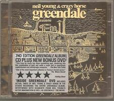 """NEIL YOUNG & CRAZY HORSE """"Greendale"""" CD + DVD"""