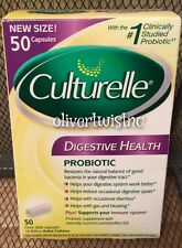 NEW Culturelle 50 Probiotic Daily Digestive Health Capsules Exp.MAY 2017 Sealed