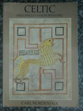 Bygone Celtic and anglo _ saxon painting book carl nordenfalk