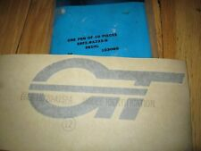 NOS 1986 87 88 FORD ESCORT GT HOOD DECAL