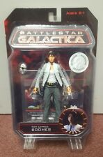 Battlestar galactica action figure new caprica boomer toys r us exclusive new