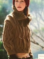 Ladies Zipped Bloison Jacket ( S,M,L,XL ) Knitting Pattern