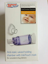 OptiChamber Diamond With SMALL MASK PEDIATRIC for Pediatric Size