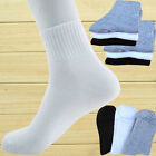 4-12 Pairs New Man's Ankle/Quarter Crew Men Athletic Sport Socks Low Cut 3Colors