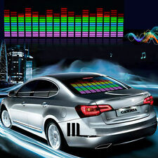 Zone Tech Sound Music Beat Activated Car Sticker Equalizer Glow MultiColored LED