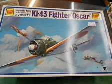 1/48 SCALE PLASTIC MODEL KIT BY OTAKI - Japanese Ki-43 plane 'Oscar'