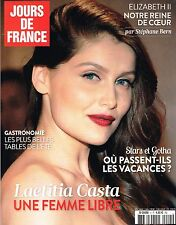 French JOURS DE FRANCE Magazine #5 LAETITIA CASTA Queen Elizabeth II @NEW@