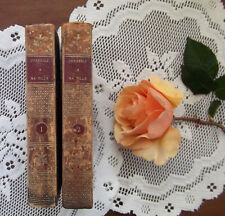 Conseils a Ma Fille by J. N. Bouilly Third Edition Two-Volume Set 1813 SIGNED