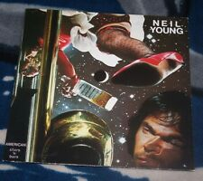 NEIL YOUNG AMERICAN STARS 'N BARS 1978 GERMAN LP REPRISE REP 54 088 INSERT