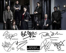 Penny Dreadful S2 Eva Green Josh Hartnett Cast Signed Photo Autograph Reprint