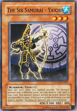 STON-EN007 The Six Samurai - Yaichi Unlimited Edition Yugioh Card