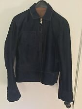 Dolce and Gabbana Men's reversible calf hair/leather biker jacket.Size48.Archive