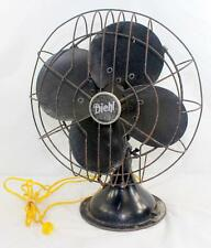 "Vintage Diehl 3-Speed Oscillating 12"" Electric Fan -Watch the video see it work!"