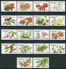 DOMINICA 1981 Blumen Flowers Früchte Fruits 730-47 I (18) ** MNH