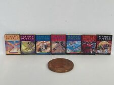 Harry Potter books for dolls house x 7 1:12th scale SALE!!!!!