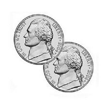 DOUBLE HEADED NICKEL-PRECISION MADE-COIN TRICKS-MAGIC