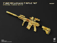 Easy & Simple 1/6 Scale HK417 Assault Rifle Set Wildcat 06009A