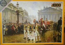1000 PIECE JIGSAW PUZZLE FALCON THE LORD MAYORS SHOW 1887 WILLIAM LOGSDAIL