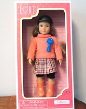 "Our Generation Lori Doll FELICIA Equestrian Horse Riding Girl Small 6"" NIB"