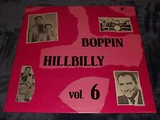 BOPPIN' HILLBILLY VOL. 6 LP Joe Cannonball Lewis Jesse James Jimmy Johnson