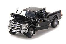 """Ford F250 Pickup Truck - Super Cab - 8 Ft Bed - """"BLACK"""" - 1/50 - Sword #SW1100K"""
