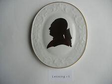 Meissen Plaque Gotthold Ephraim Lessing (mon Numéro d'article 1)