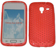 TPU Pattern Gel Rubber Case Protector Cover For Samsung Galaxy Ace 2 GT i8160 UK