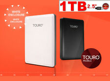 "HARD DISK ESTERNO 1TB 2.5"" USB3.0 HGST HITACHI Touro External HD Hard Disk Drive"