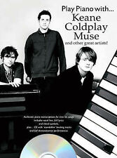 Play Piano With... Keane, Coldplay, Muse And Other Great Artists!, Very Good, Wi