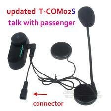 T-COM02S BT Bluetooth Motorcycle Bike Sports Helmet Headset Headphone Handfree