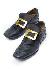 GOLD METAL SHOE BUCKLES FOR FANCY DRESS PARTY ACCESSORY